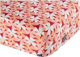 Kickee Pants Print Fitted Crib Sheet, Apple Blossom by