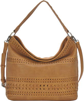 Antik Kraft Braided Faux Leather Hobo Bag
