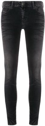 Diesel Slim-Fit Mid Rise Jeans