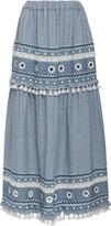 DoDo Bar Or Ataliya Embroidered Maxi Skirt