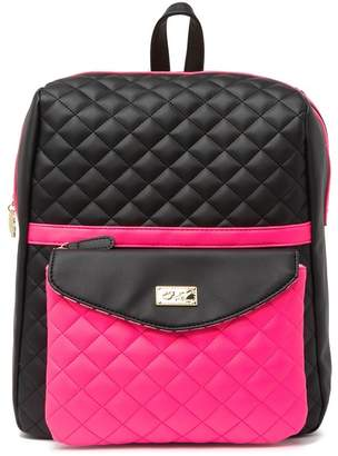 Betsey Johnson LUV BETSEY BY Lexi Print Backpack With Detachable Crossbody Bag