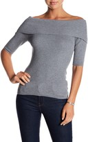Olive + Oak Olive & Oak Tibi Off-the-Shoulder Knit Sweater