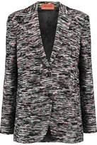 Missoni Crochet-Knit Wool-Blend Blazer