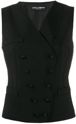 Dolce & Gabbana Double-Breasted Waist Coat