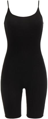 Enza Costa Ribbed Jersey Bodysuit