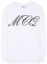 McQ by Alexander McQueen Printed Cotton Sweater