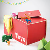Childs & Co Personalised Wooden Toy Box