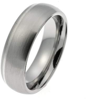 CORE by Schumann Design Core.Edelstahl Schumann Design TE213.01.m.64 Wedding Ring/Partner Ring Stainless Steel Matt with Silver Stripes