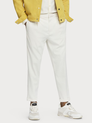 Scotch & Soda Mid-rise cotton blend beach pants   Men