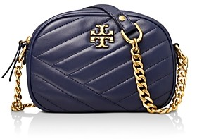 Tory Burch Kira Small Quilted Leather Camera Crossbody