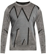 Christopher Kane Smashed Jacquard Sweater