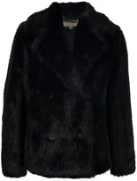 MICHAEL Michael Kors faux fur jacket - women - Modacrylic/Polyester/Spandex/Elastane - L