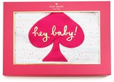 Kate Spade Infant Girls' Hey Baby Reversible Blanket