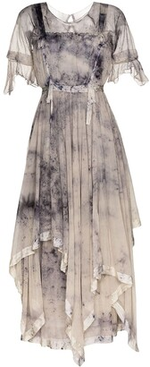 MIMI PROBER Susanna tie-dye effect maxi dress