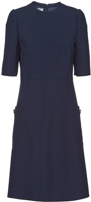 Prada Natte toile dress