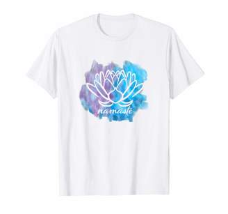 Namaste Official Get Hopped Apparel Mindfulness Meditation Cute Yoga T-Shirt