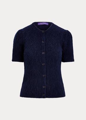 Ralph Lauren Knit Short-Sleeve Cardigan