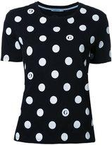 GUILD PRIME poka dot T-shirt - women - Cotton - 34