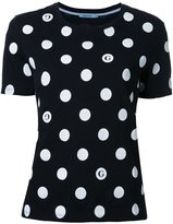 GUILD PRIME poka dot T-shirt