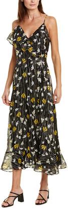 Joie Kenny Silk-Blend Maxi Dress