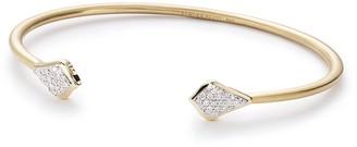 Kendra Scott Alexi Pinch Bracelet in Pave Diamonds