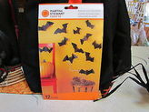 Martha Stewart Halloween Bats Silhouettes 12 Pieces Mint In The Package