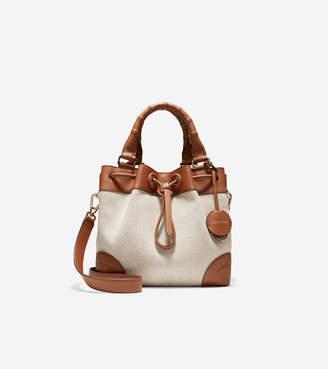 Cole Haan Small Canvas Bucket Bag