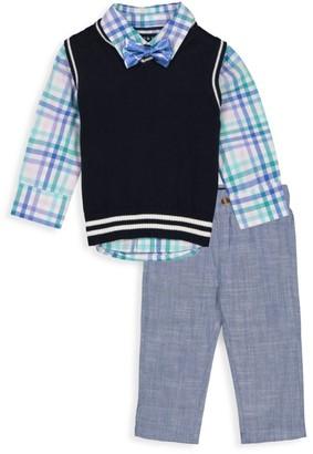 Andy & Evan Little Boy's 4-Piece Sweater Vest & Pant Set