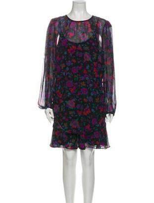 Veronica Beard Silk Knee-Length Dress w/ Tags Black