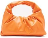 Bottega Veneta The Shoulder Pouch Small Leather Bag - Womens - Orange