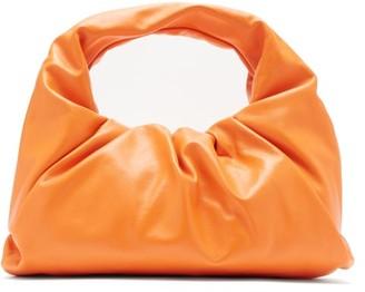Bottega Veneta The Shoulder Pouch Small Leather Bag - Orange