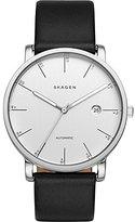 Skagen Men's SKW6302 Hagen Black Leather Watch