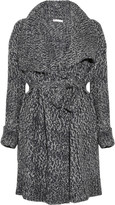 Knitted cardi-coat