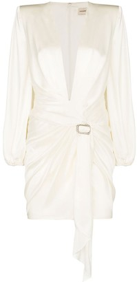 Alexandre Vauthier draped waist mini dress