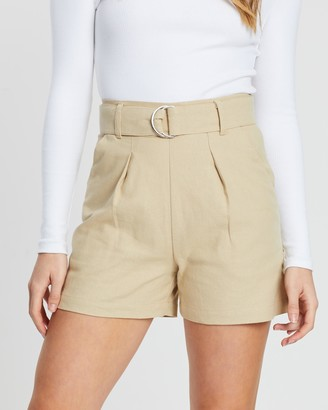 Atmos & Here Heidi Belted Shorts