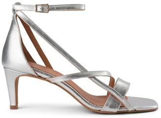 Shoe The Bear Silver Rosana Strap Sandal - 36