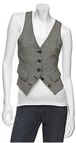 Eliza Wool Tuxedo Vest
