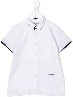 Paolo Pecora Kids Short-Sleeve Shirt
