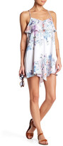 Shoshanna Asymmetrical Printed Dress
