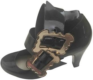 Vivienne Westwood Black Plastic Heels
