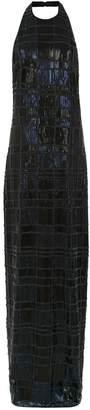 Tufi Duek sequin long dress