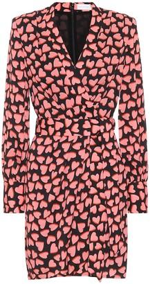 Rebecca Vallance Hotel Beau crepe mini dress
