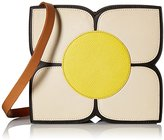 Orla Kiely Square Flower Applique Small Sling Shoulder Bag