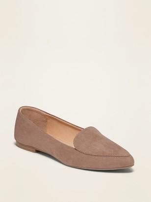 Old Navy Faux-Suede Pointy-Toe Loafers for Women
