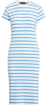 Polo Ralph Lauren Striped Short-Sleeve T-Shirt Dress