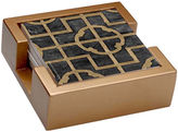 Thirstystone Ebony Shell Set of 4 Stoneware Coasters Gift Set