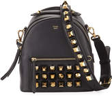 Fendi Mini Leather Backpack with Studs