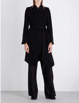 Ann Demeulemeester Side tie wool-blend coat