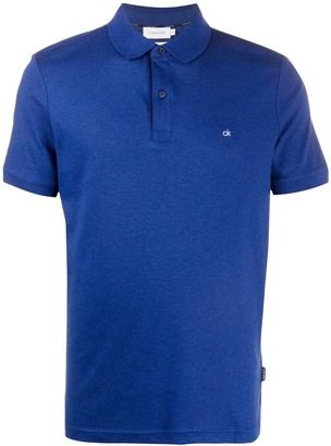 Calvin Klein Embroidered Logo Polo Shirt