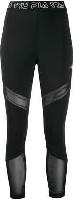 Fila logo lined leggings